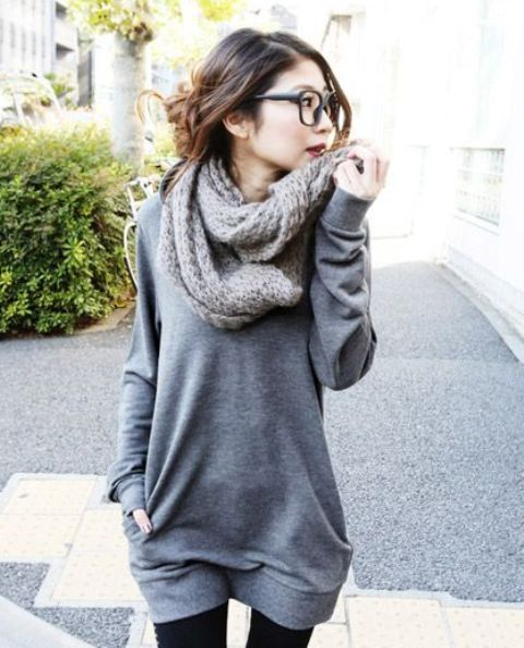 Picture Of comfy sweater dresses for cold weather  15