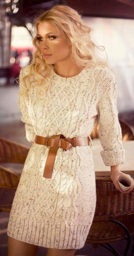 Picture Of comfy sweater dresses for cold weather  2