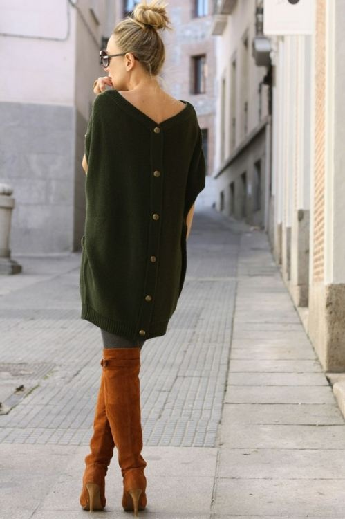 Picture Of comfy sweater dresses for cold weather  4