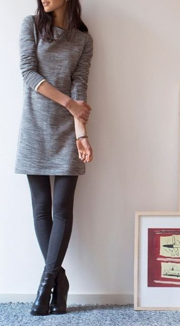 Picture Of comfy sweater dresses for cold weather  5