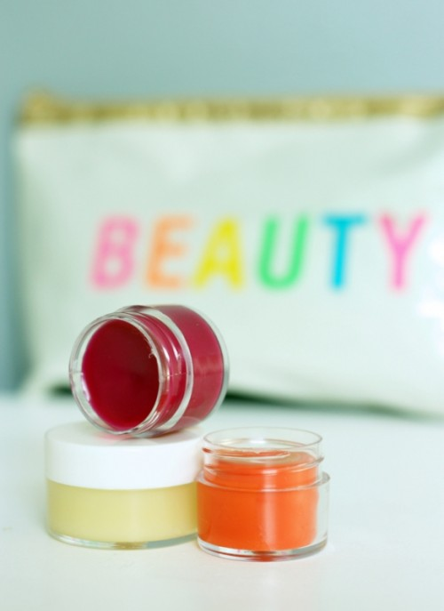 Cool And Colorful DIY Lip Gloss