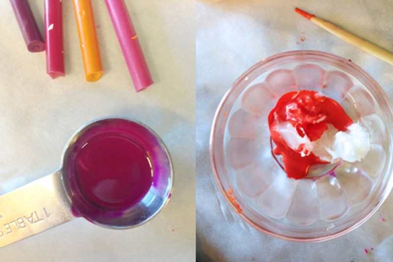 Picture Of cool and colorful diy lip gloss  4