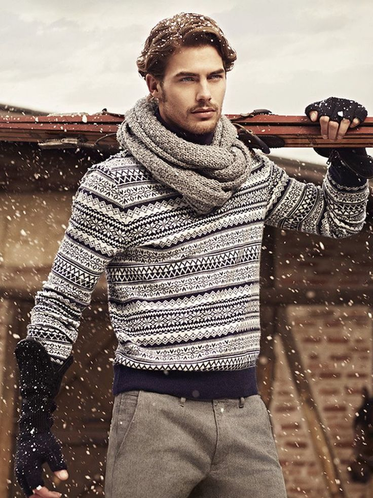 Picture Of cool and fun men holiday sweaters  11