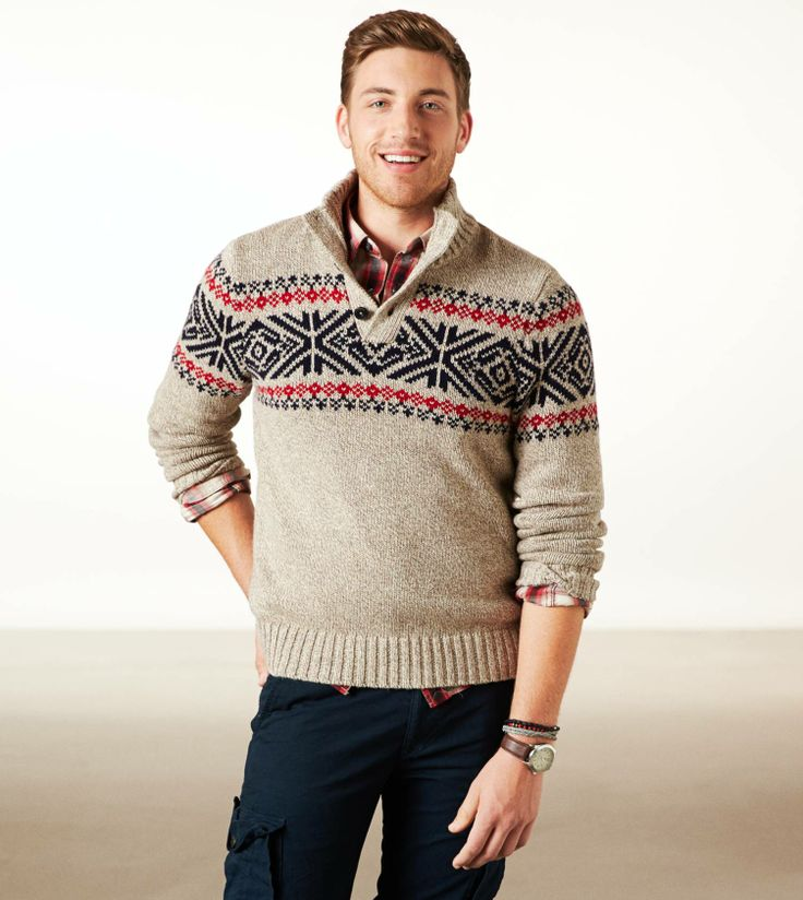 Picture Of cool and fun men holiday sweaters 6
