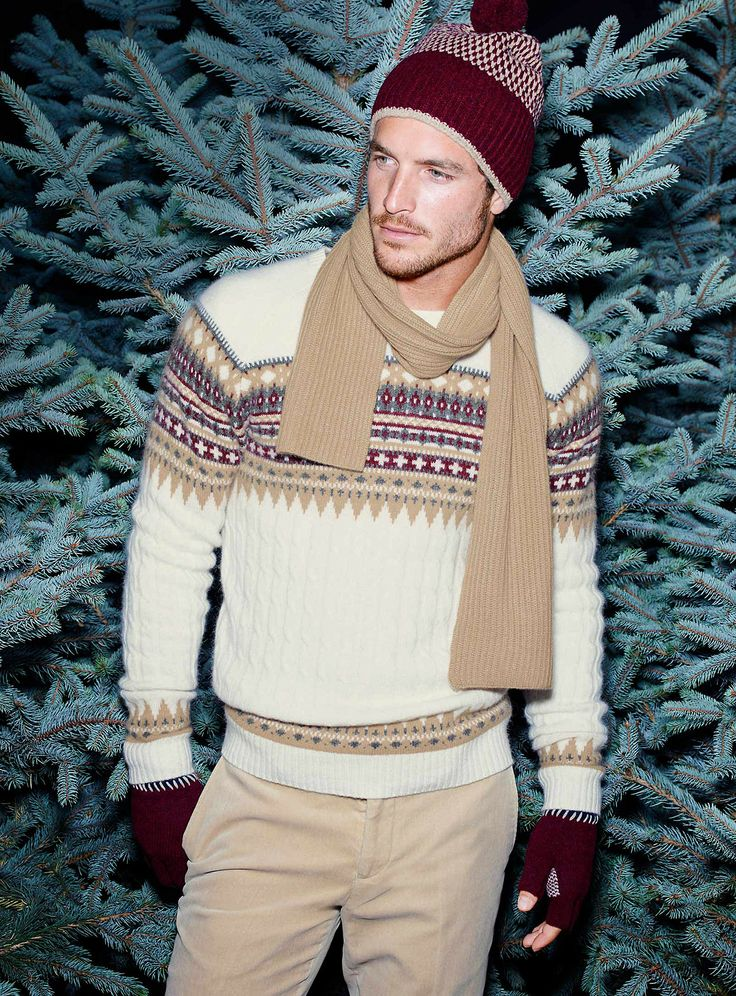 Picture Of cool and fun men holiday sweaters  7