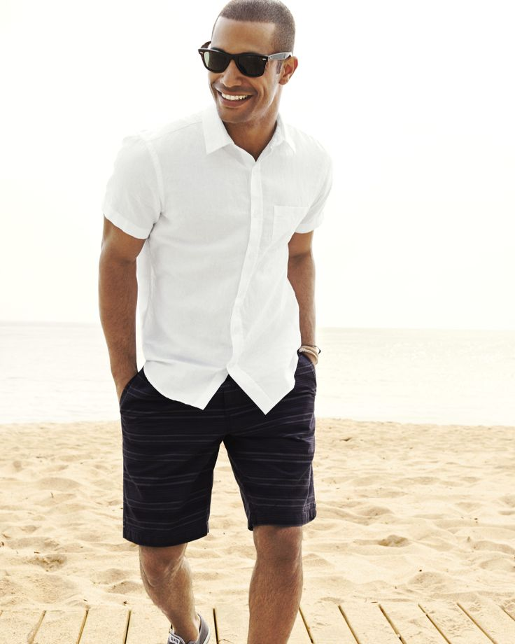 Picture Of cool and relaxed beach men outfits  14