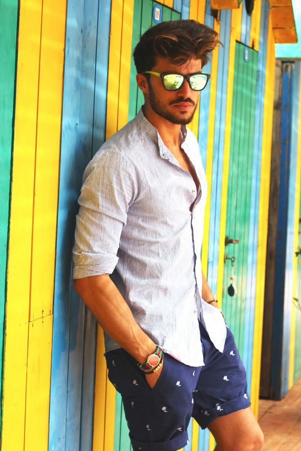 Picture Of cool and relaxed beach men outfits  6
