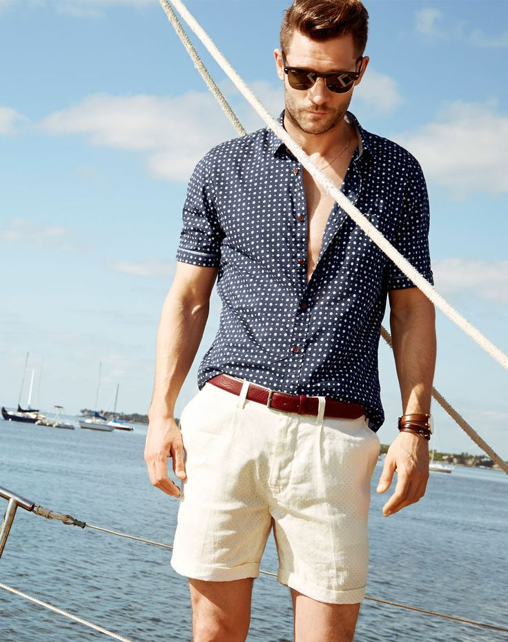 Picture Of cool and relaxed beach men outfits  7