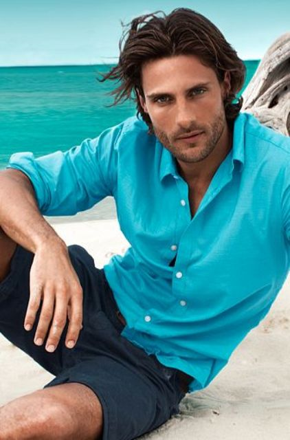 Picture Of cool and relaxed beach men outfits  8