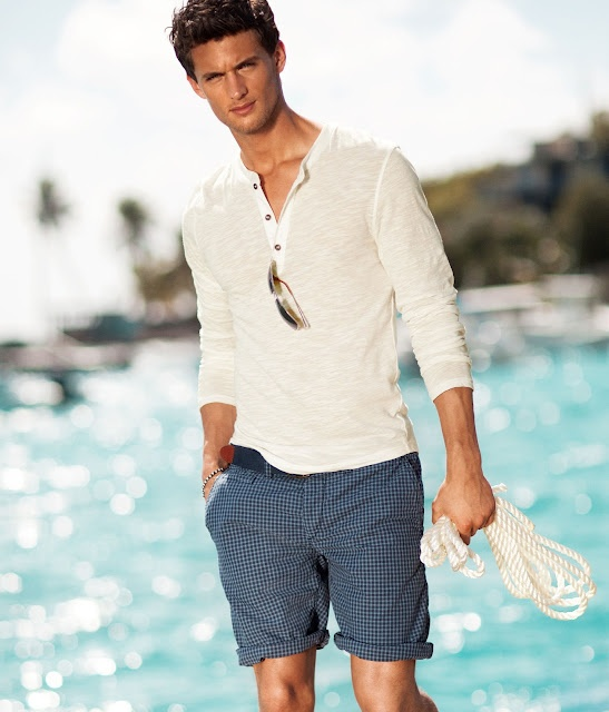 Picture Of cool and relaxed beach men outfits  9