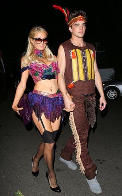 Picture Of cool celebrities halloween costumes  13