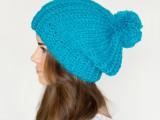 French pompom beret pattern