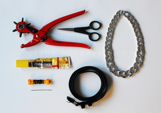 Picture Of cool diy chain belt  2