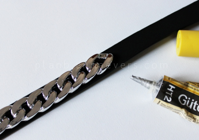 Picture Of cool diy chain belt  4