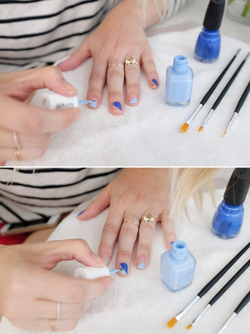 Cool DIY Killer Lineup Nail Art To Make