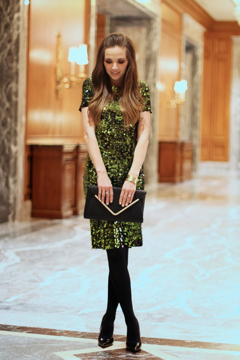 Picture Of cool diy sequin dress for parties  1