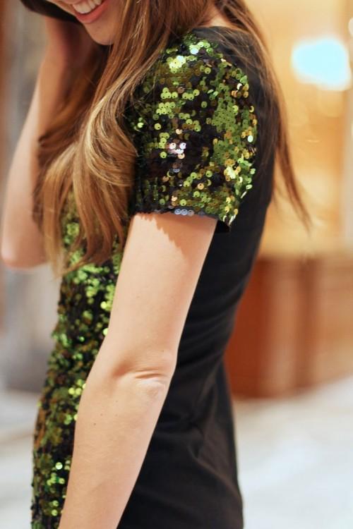 Cool DIY Sequin Dress For Parties