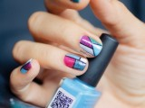 cool-glitter-geometric-nail-design-to-try-3