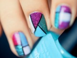 cool-glitter-geometric-nail-design-to-try-6