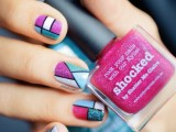 cool-glitter-geometric-nail-design-to-try-7