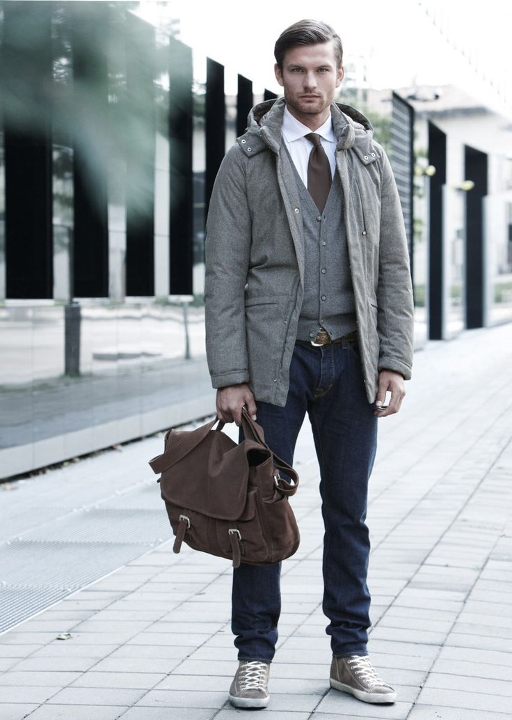 Picture Of cool men work putfits with sneakers  10