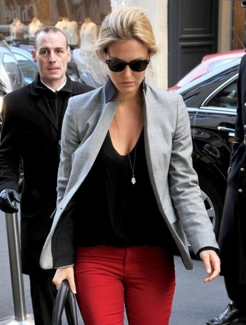 Cool-red-and-grey-work-outfits-to-get-inspired-1   Styleoholic