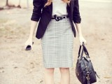cool-red-and-grey-work-outfits-to-get-inspired-14