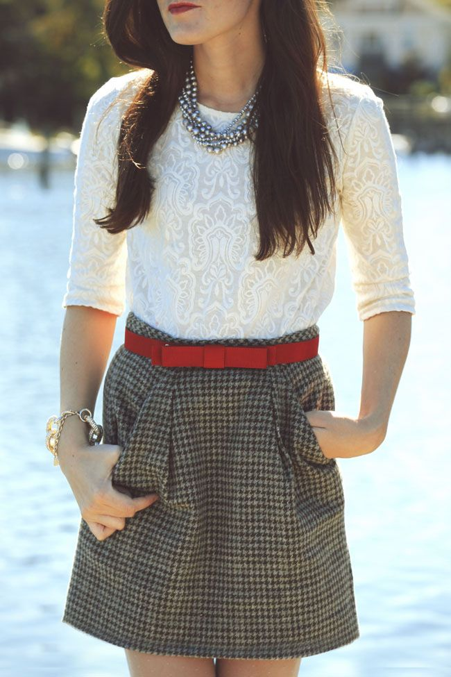 Picture Of cool red and grey work outfits to get inspired  3