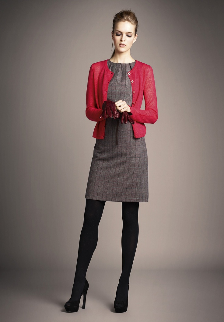 Picture Of cool red and grey work outfits to get inspired  6