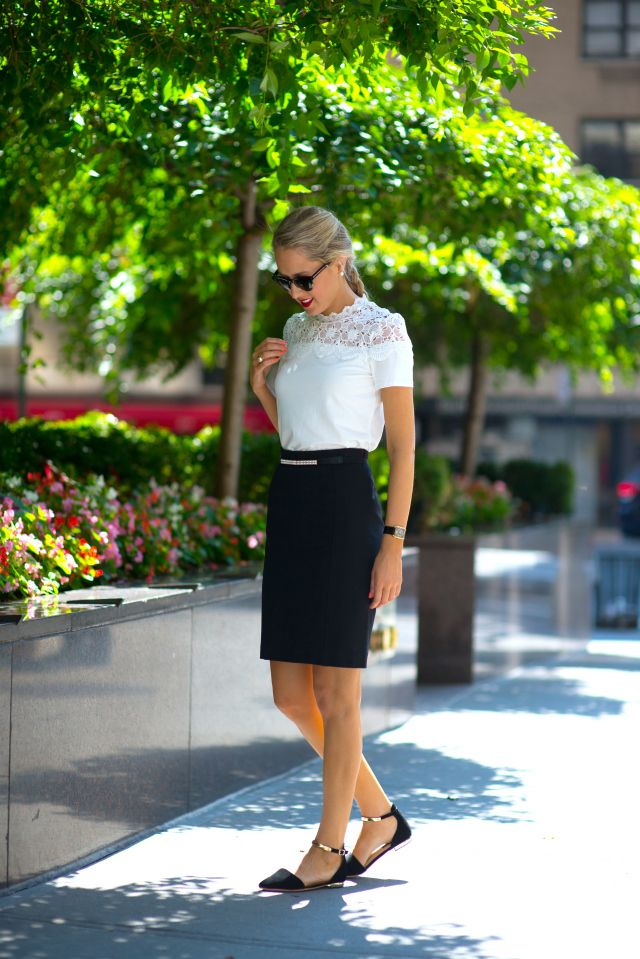 Picture Of Fashion Blog For Professional Women New York City Street Style Work Wear