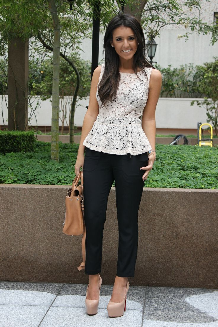 Picture Of cool ways to rock lace at work  16