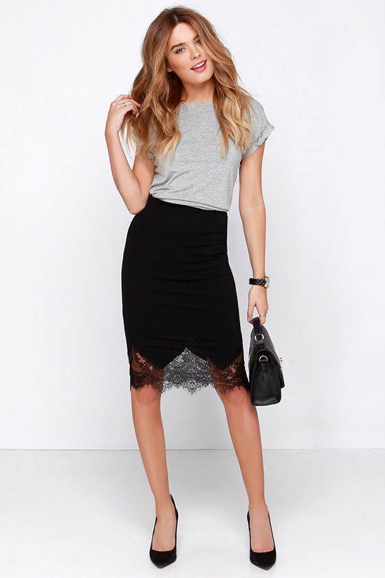 Picture Of cool ways to rock lace at work  20