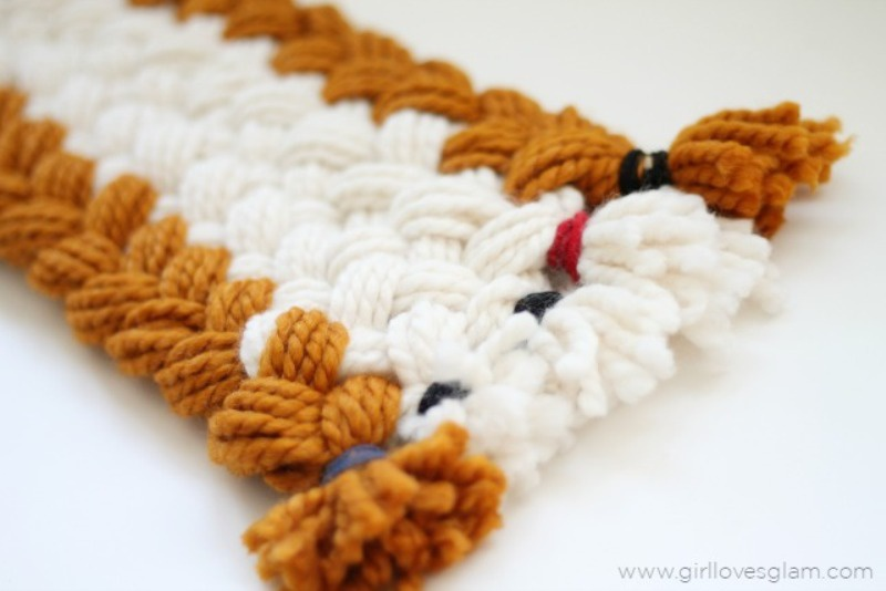 Picture Of cozy diy chunky braided scarf for this fall  2