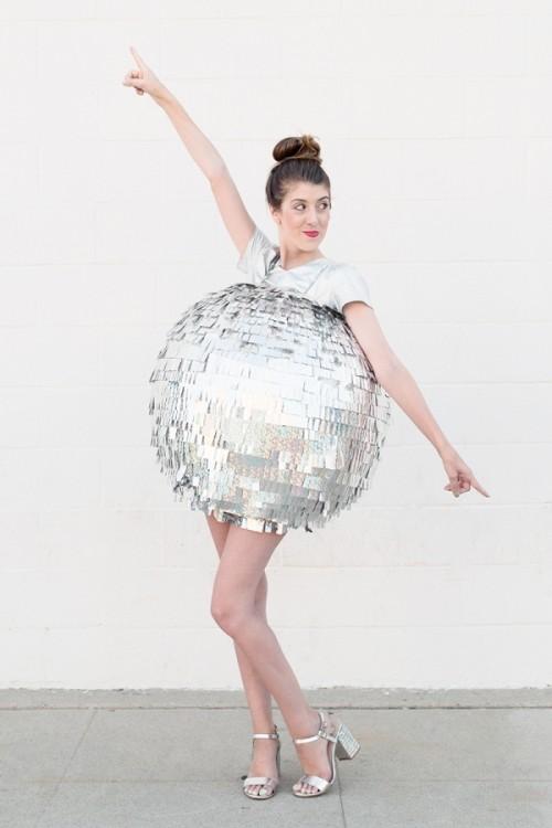 disco ball costume (via studiodiy)