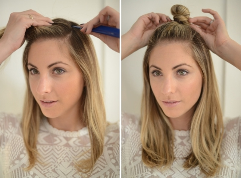 Picture Of cute and relaxed diy triple braid to try  2
