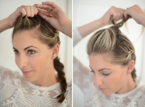 Cute And Relaxed DIY Triple Braid To Try