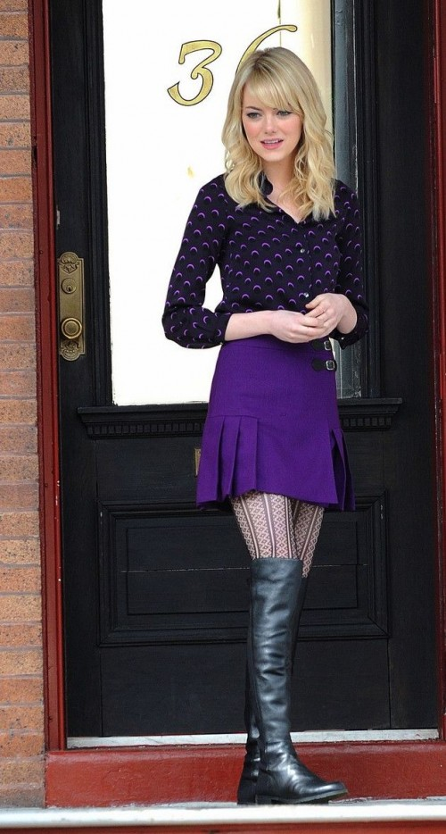 Cute Celebrity Looks With Original Tights