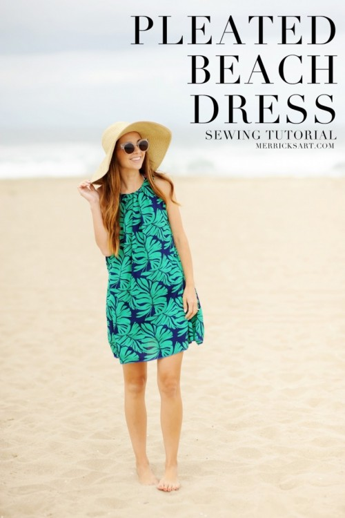 15 Cute DIY Beach Dresses, Cover Ups And Wraps