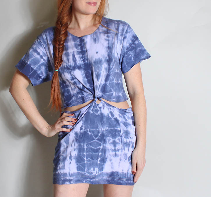 Picture Of no sew t shirt beach dress