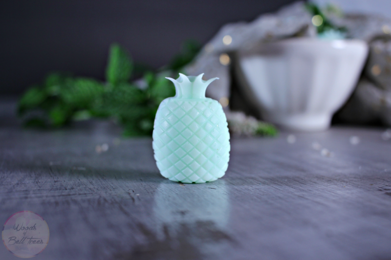 Picture Of cute diy minty pineapple soaps  1