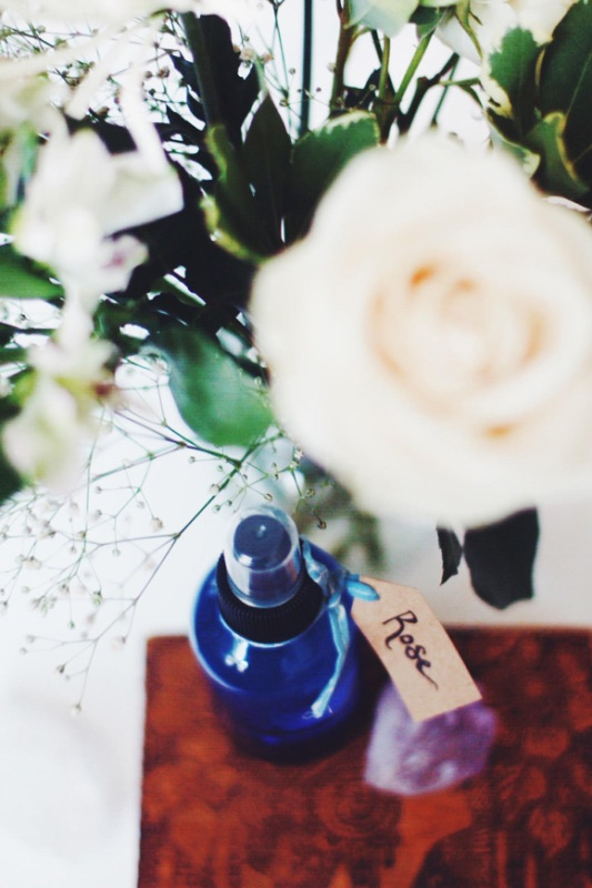 Picture Of delicate hydrating diy rose water spray  2