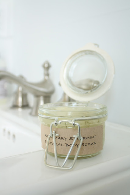 rosemary body scrub (via julieblanner)