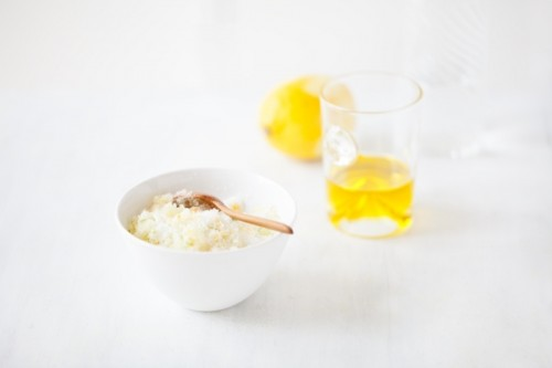 citrus body scrub (via styleoholic)