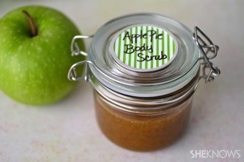 apple pie body scrub (via sheknows)