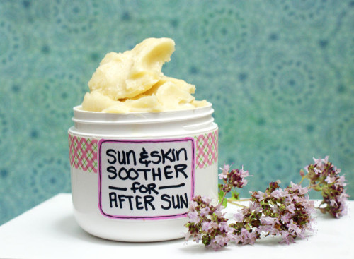 soothing after sun lotion (via soapdelinews)