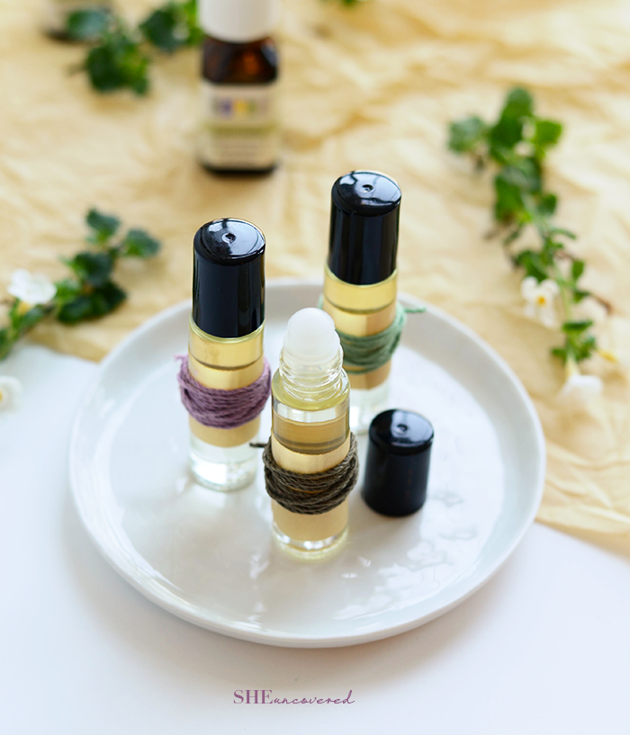 Picture Of diy all natural body perfume roll on  1
