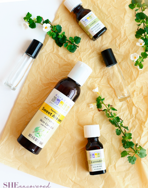 DIY All Natural Body Perfume Roll On