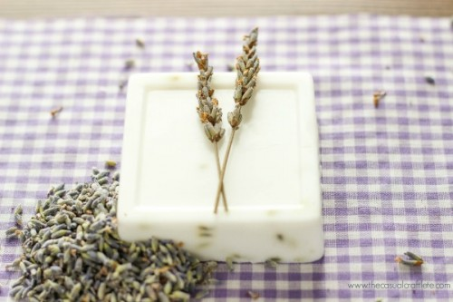 lavender and goat milk soap (via thecasualcraftlete)