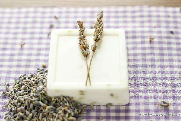 lavender and goat milk soap