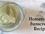 beeswax sunscreen with essential oils